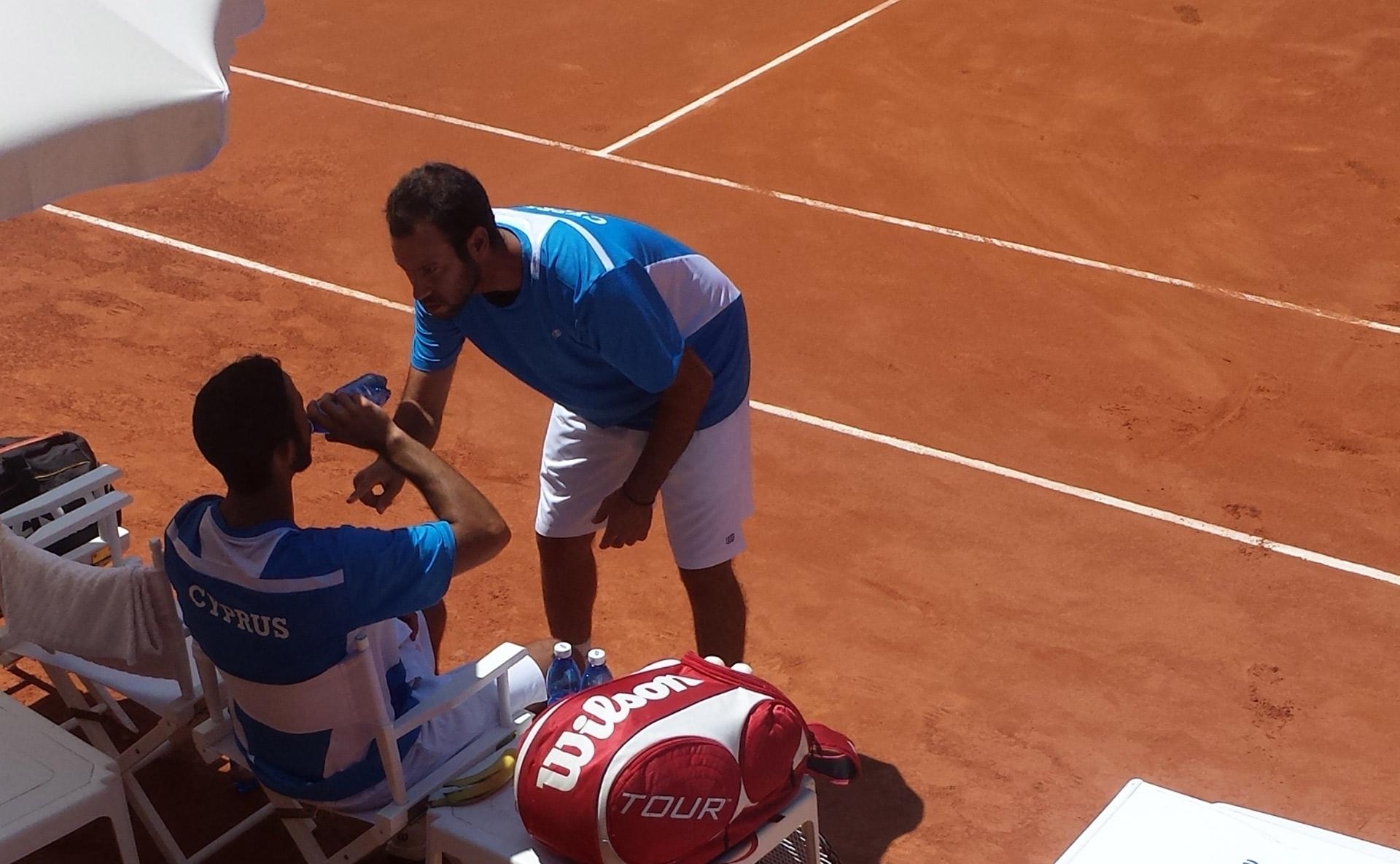 Coaching Davis Cup